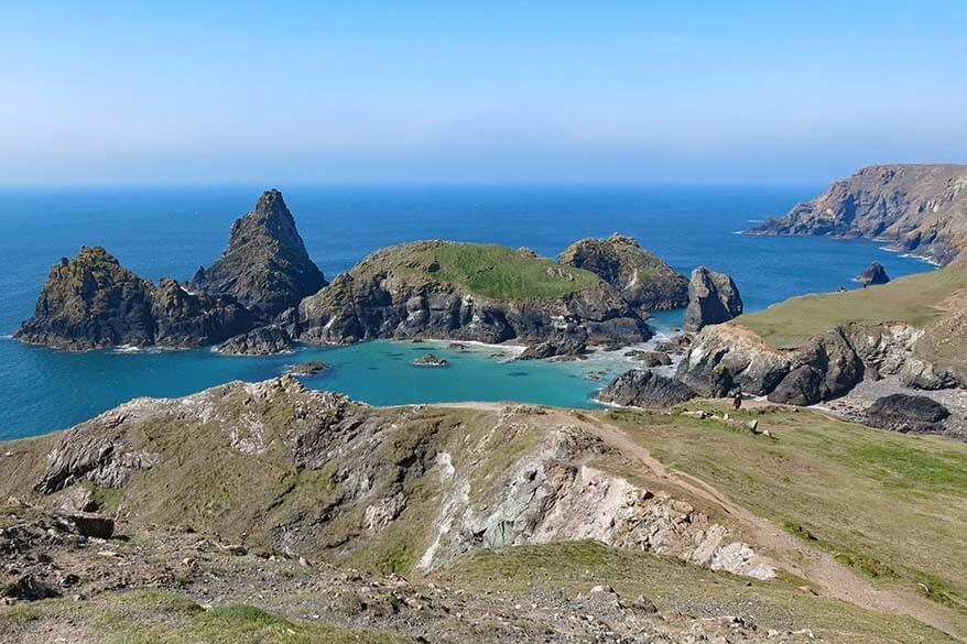 Cornwall in the UK is an amazing destination for Easter or spring break