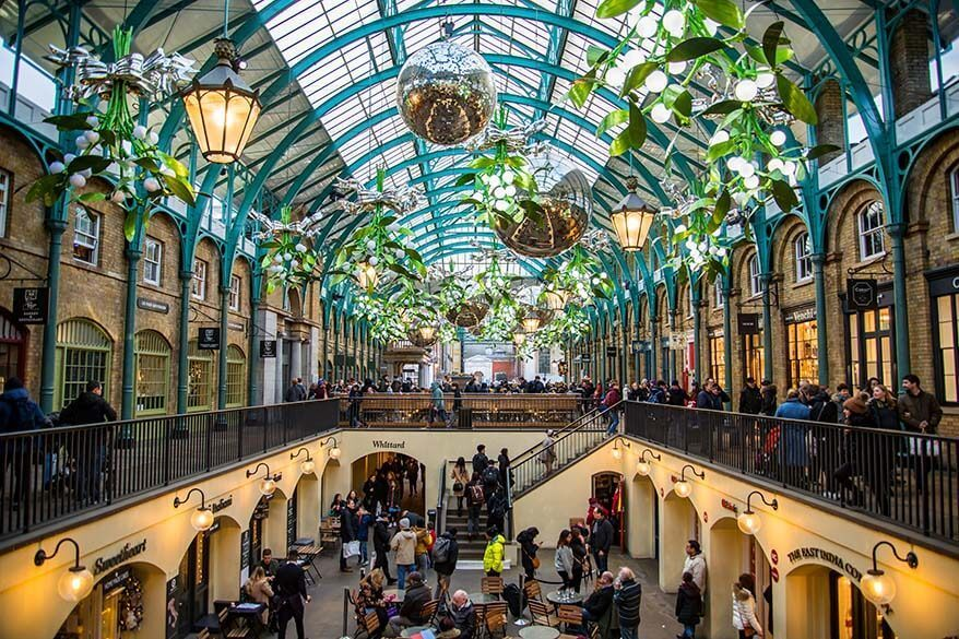 Covent Garden Market is one of the top places to visit in London