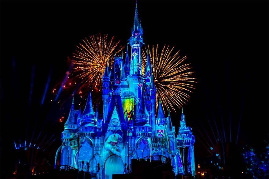 Disney World in Florida is a great spring break destination for families