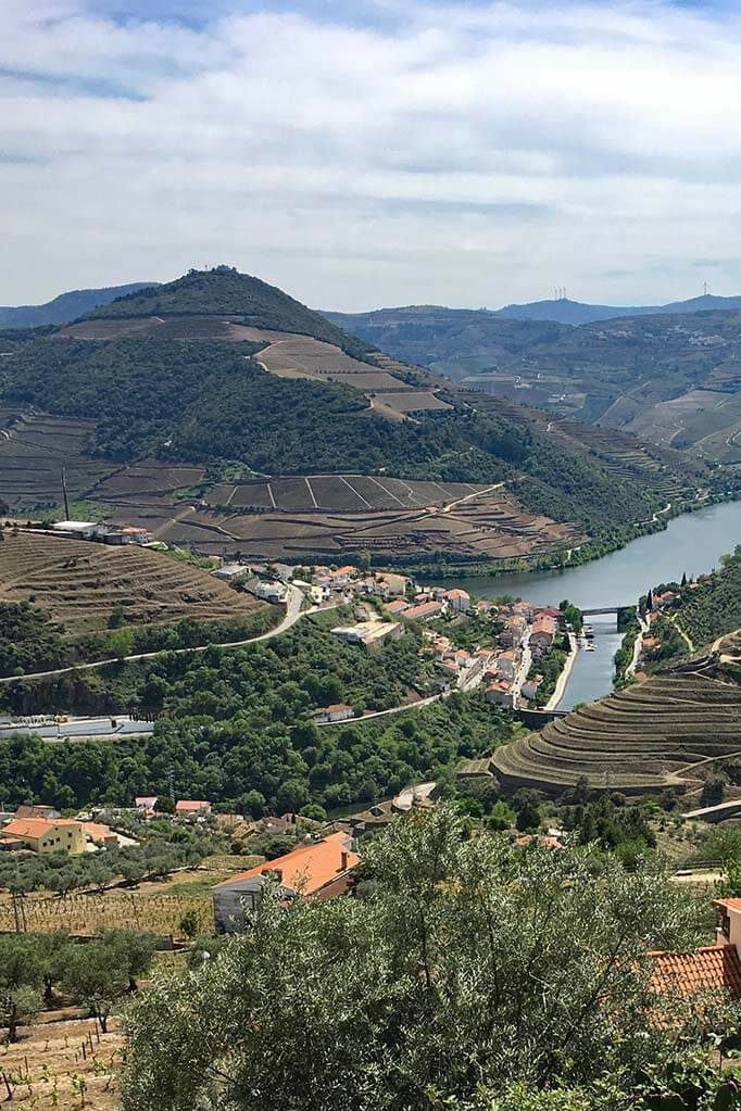 Douro Valley in Portugal in April