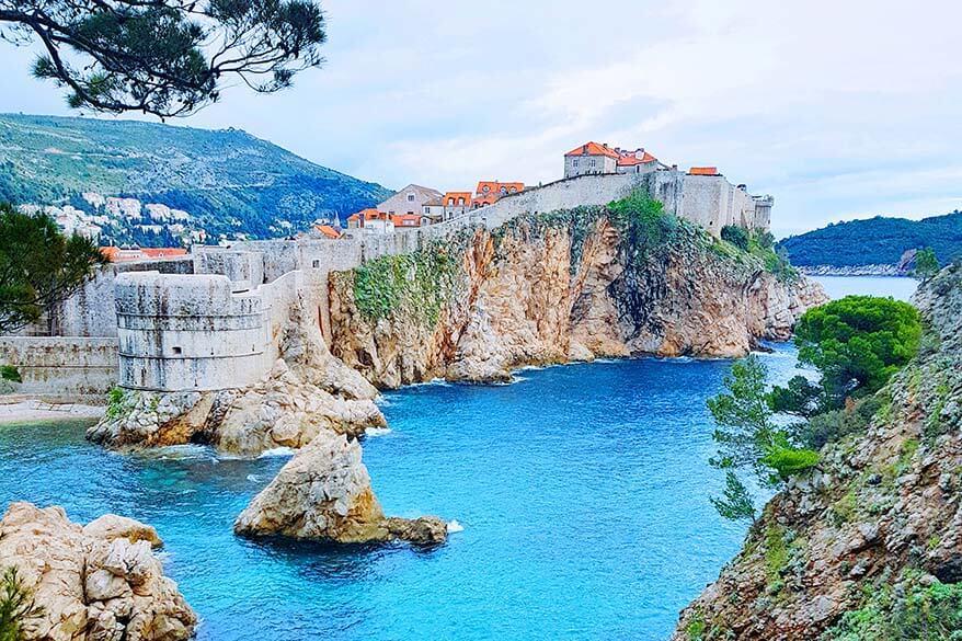 Dubrovnik Croatia in spring
