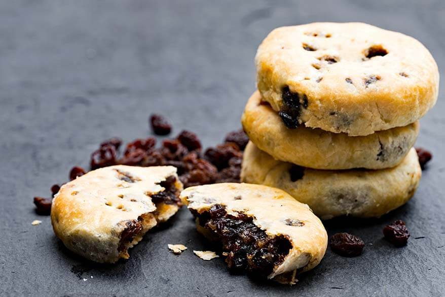 Eccles cakes - traditional British cookies