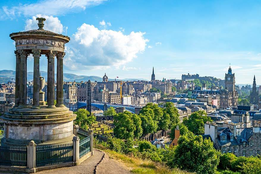 Edinburgh - one of the most beautiful cities in the UK