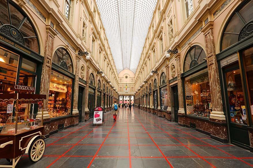 Galerie du Roi in Brussels