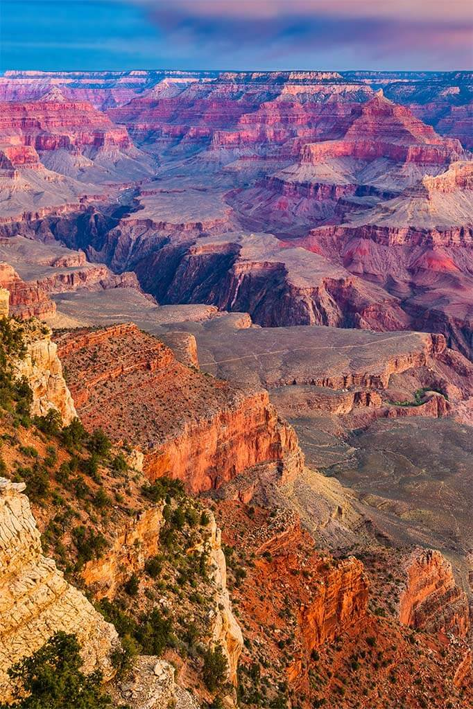 Grand Canyon is a nice day trip from Sedona