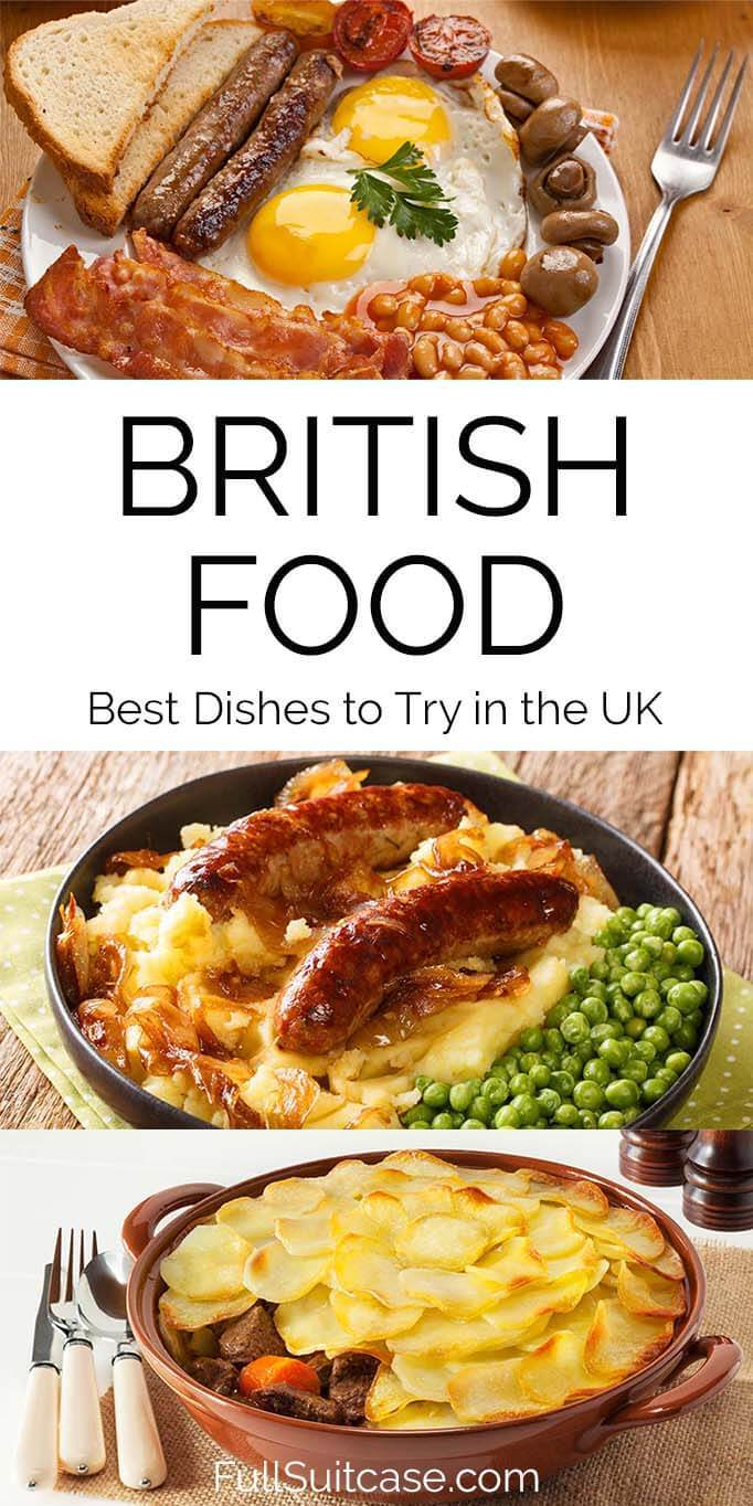 Guide to the best traditional British food