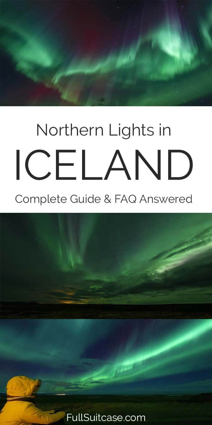 Iceland Northern Lights guide for tourists