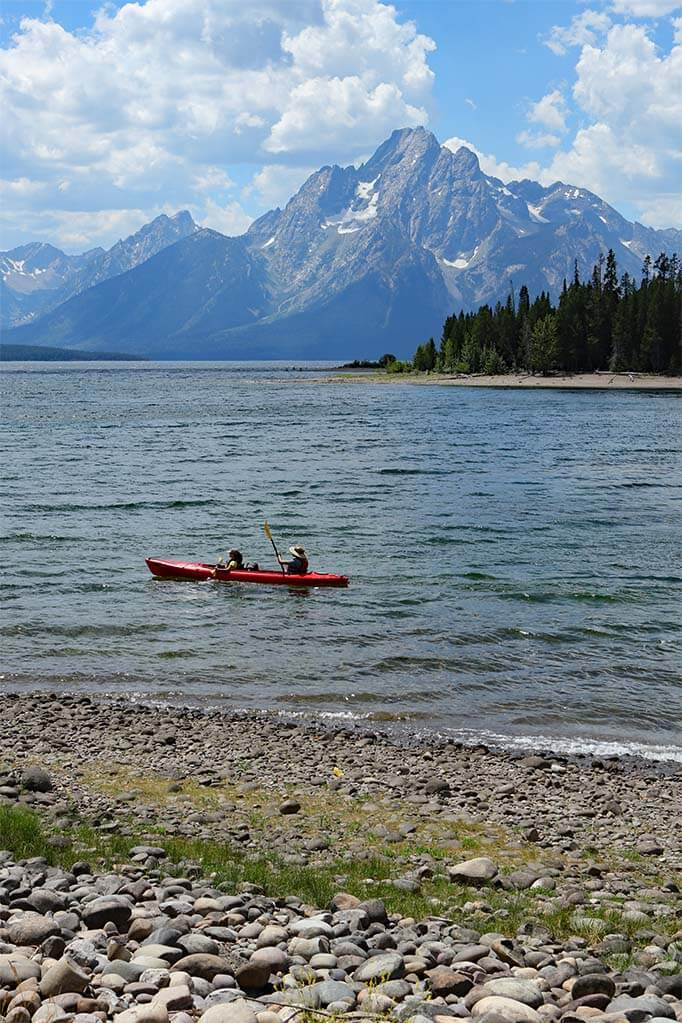 Kayaking in Grand Teton National Park