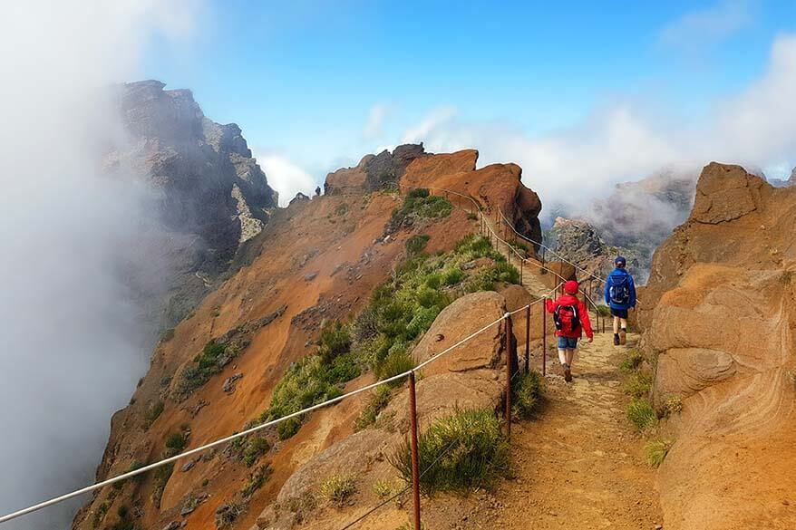 Madeira is a great spring break destination in Europe