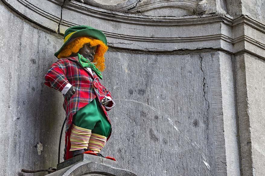 Manneken Pis is one of must see things in Brussels