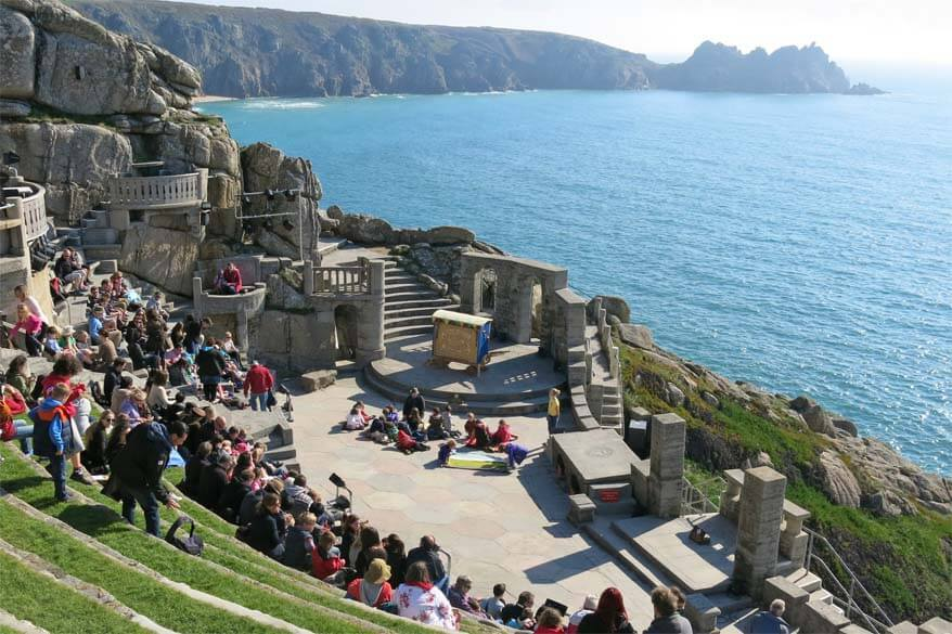 Minack Theatre in Cornwall UK