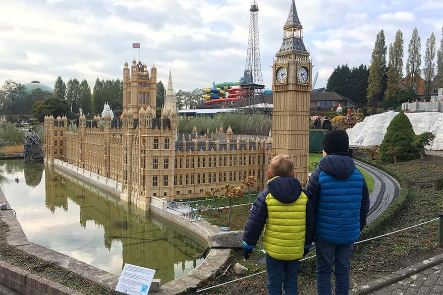 Mini Europe is one of the best tourist attractions in Brussels
