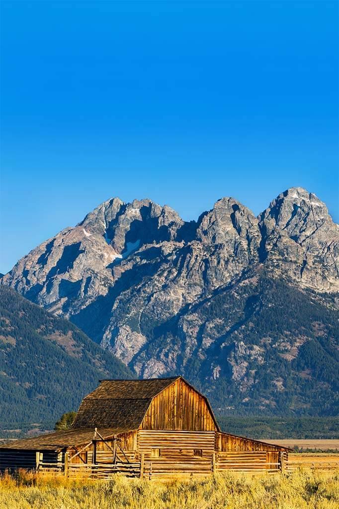 Mormon Row Historic District in Grand Teton National Park