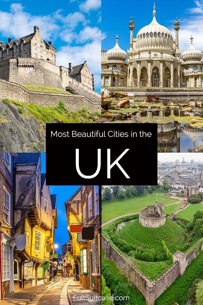 Most beautiful cities in the UK