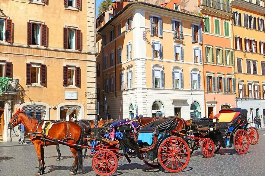 Rome Italy in spring