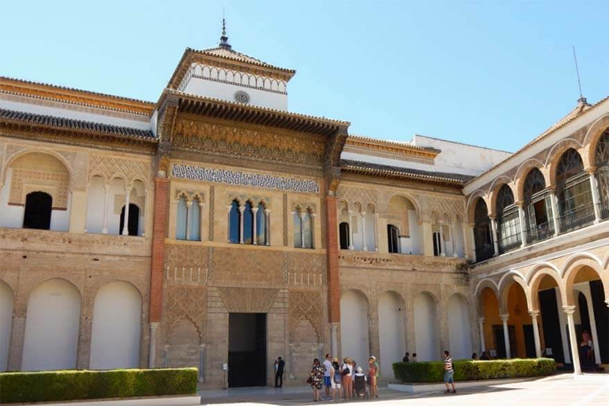 Royal Alcazar of Seville Spain