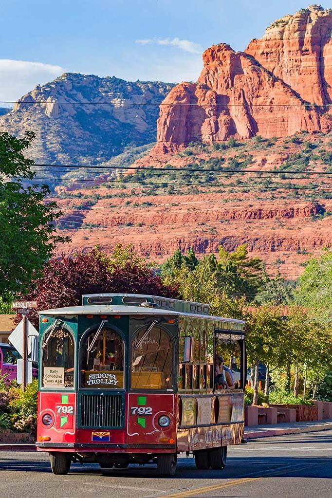 Sedona Trolley is one of the most popular things to do in Sedona