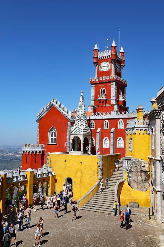 Sintra Portugal in April