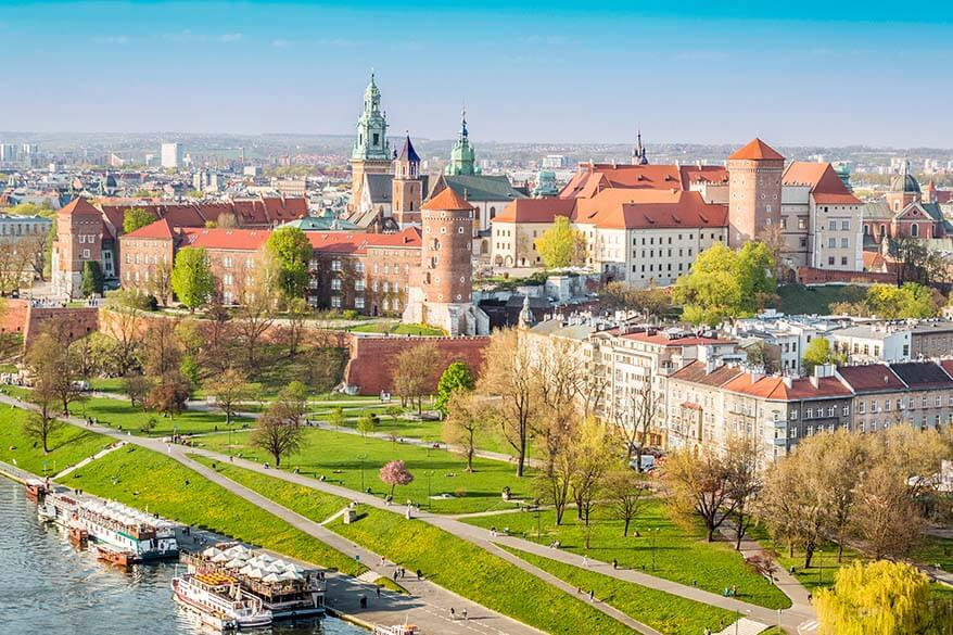 Spring break destinations in Europe - Krakow in Poland
