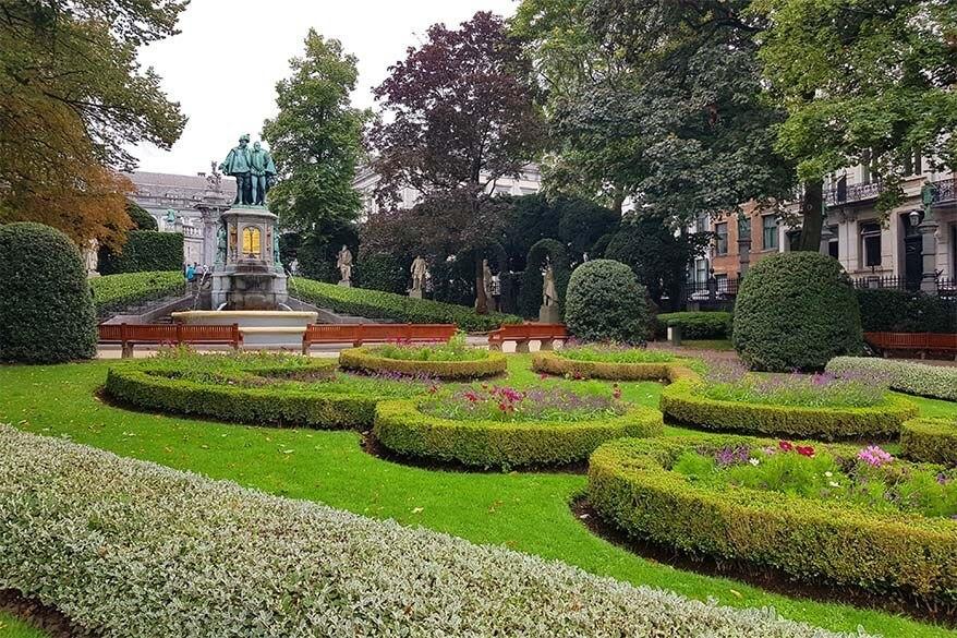 Square du Petit Sablon in Brussels