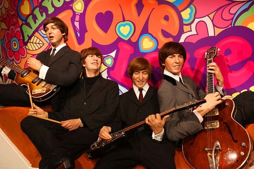 The Beatles at Madame Tussauds London
