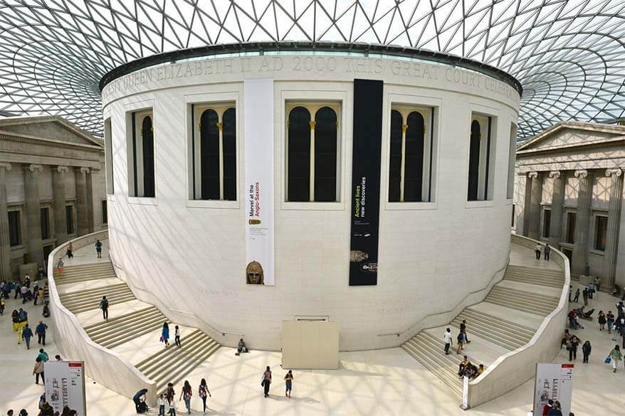 The British Museum - one of the top London attractions