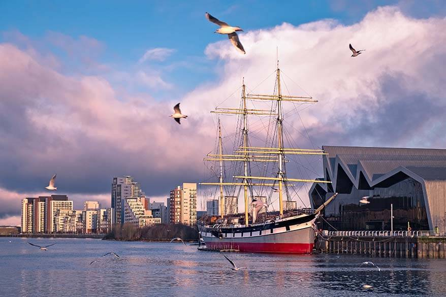The Tall Ship at Riverside in Glasgow