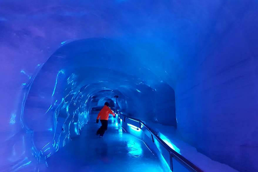 Titlis Glacier Cave