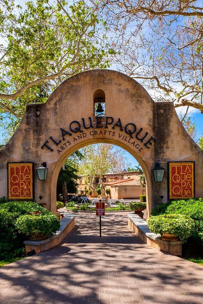 Tlaquepaque Arts and Shopping Village in Sedona