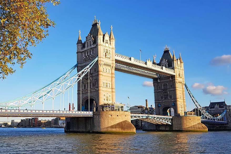 Top London Sights - Tower Bridge