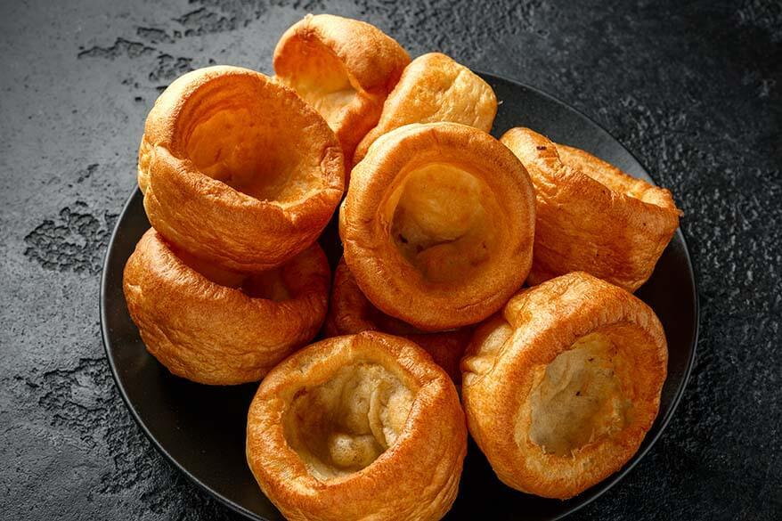 Traditional English Yorkshire pudding