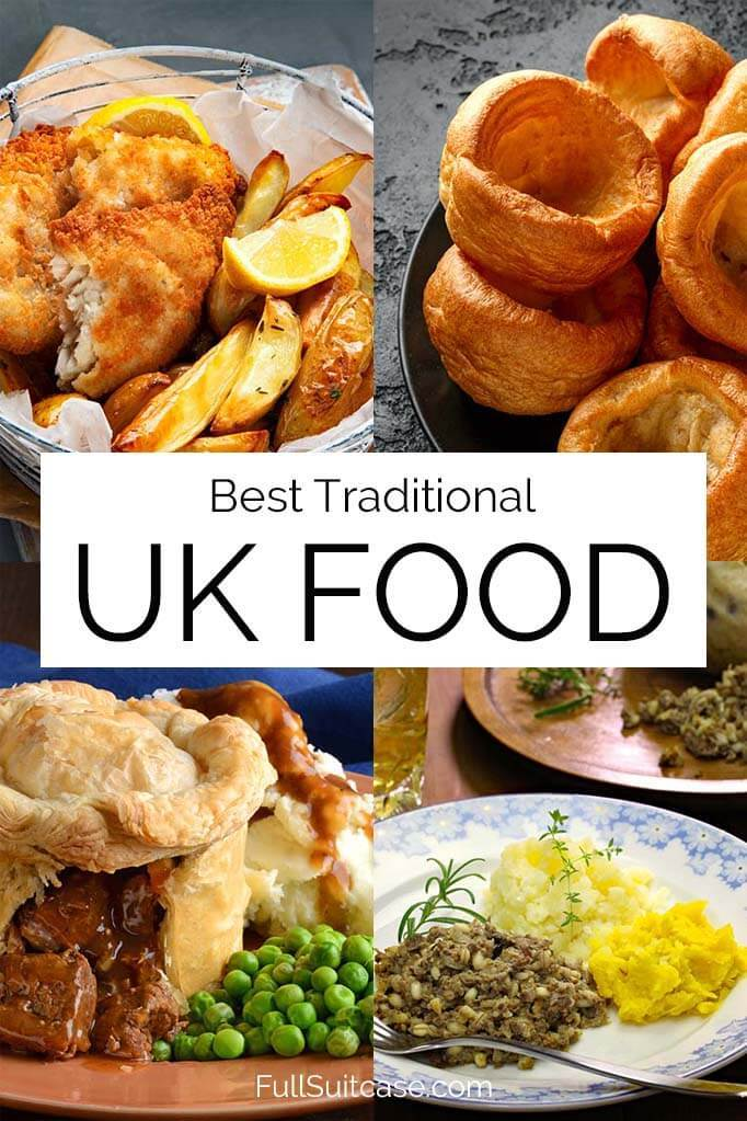 Traditional food in the UK