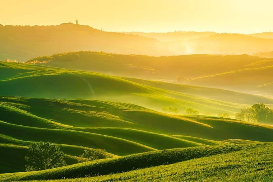 Tuscany Italy in spring