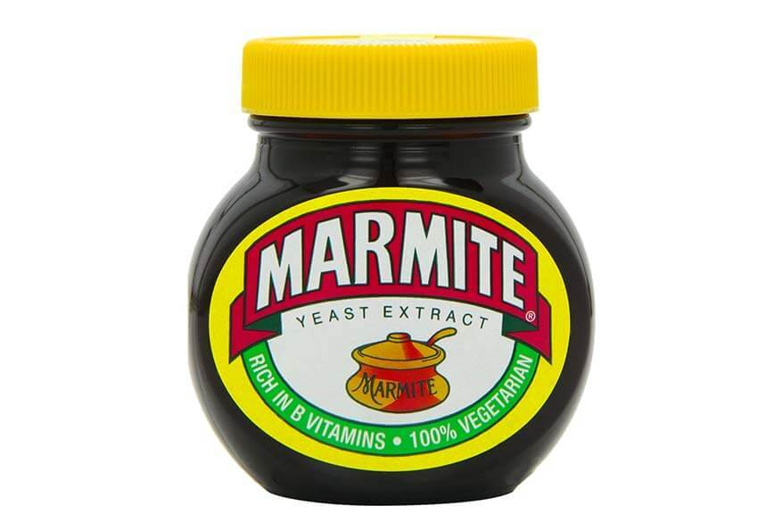 Typical British food - Marmite