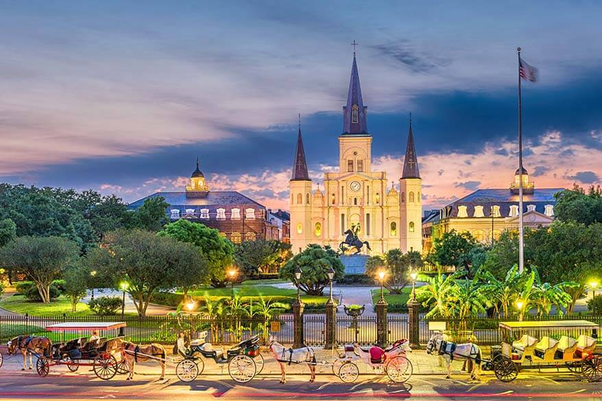 US Spring destinations - New Orleans
