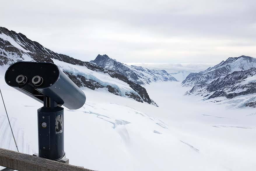 Views at Jungfraujoch