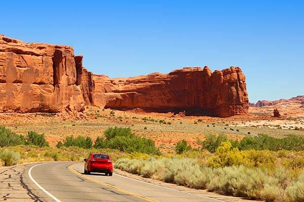 Visit Moab Arches National Park