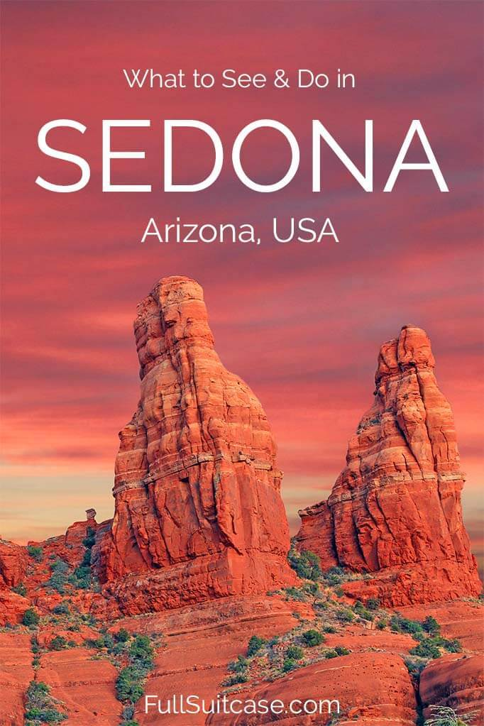 What to see and do in Sedona AZ