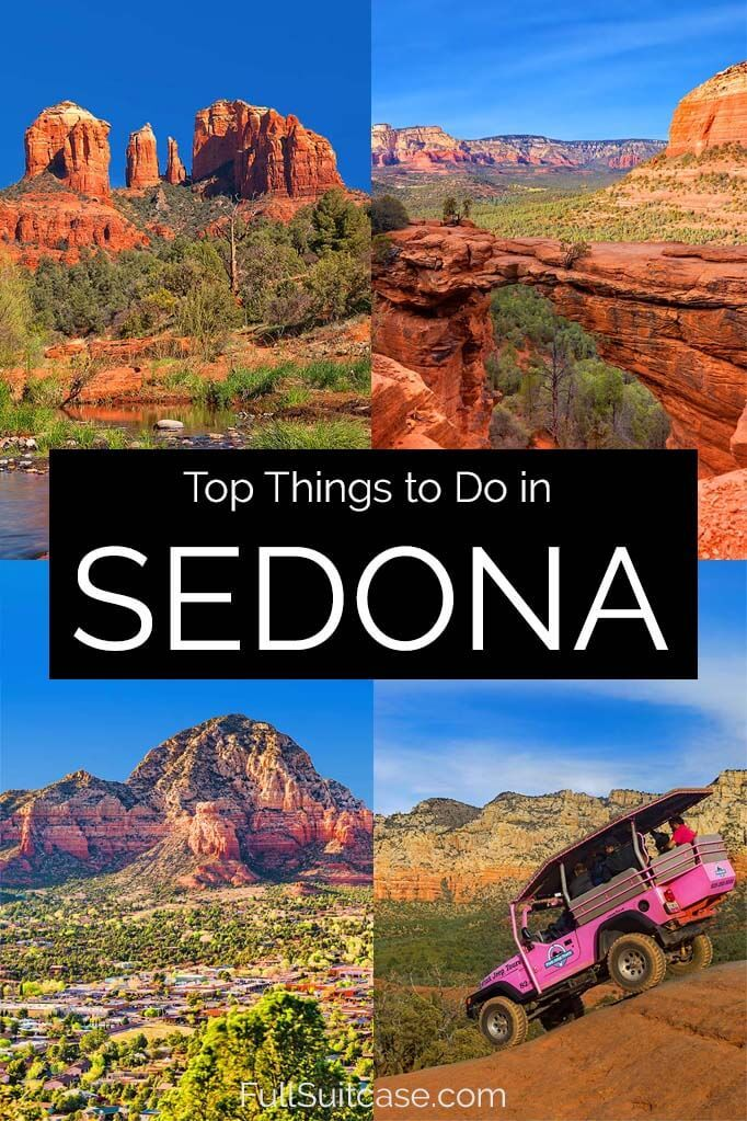 What to see and do in Sedona Arizona