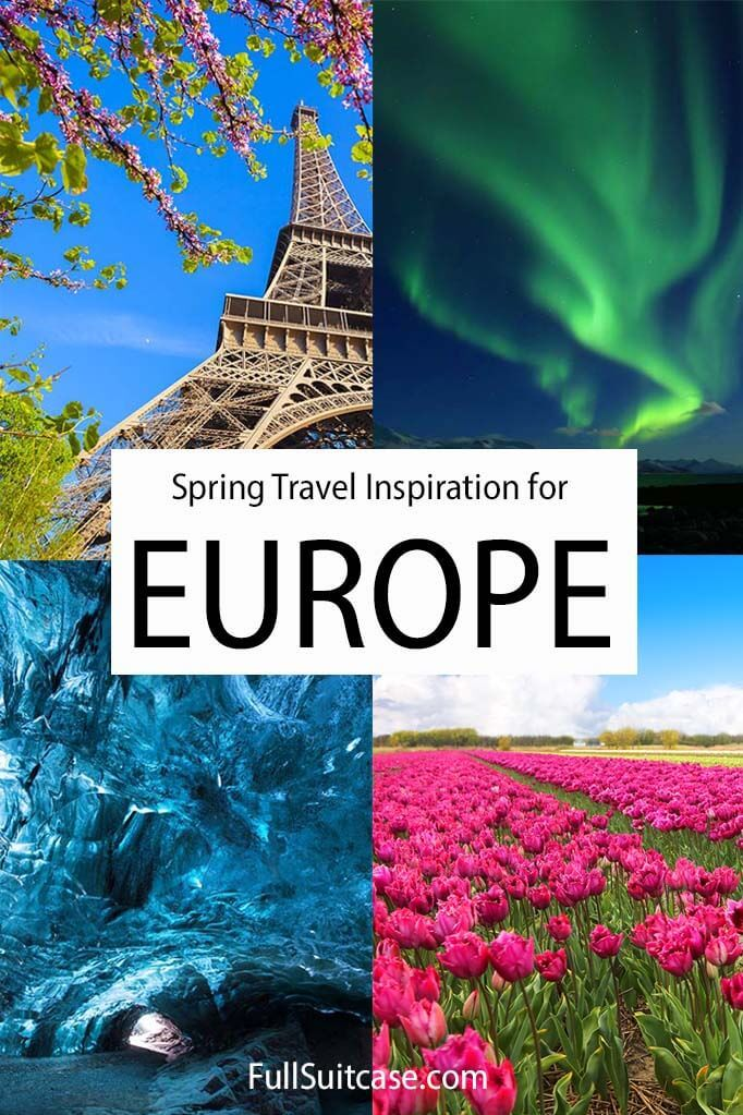 Where to go in Europe in spring