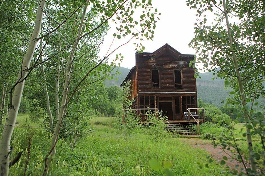 Ashcroft Ghost Town - best places to see near Aspen Colorado