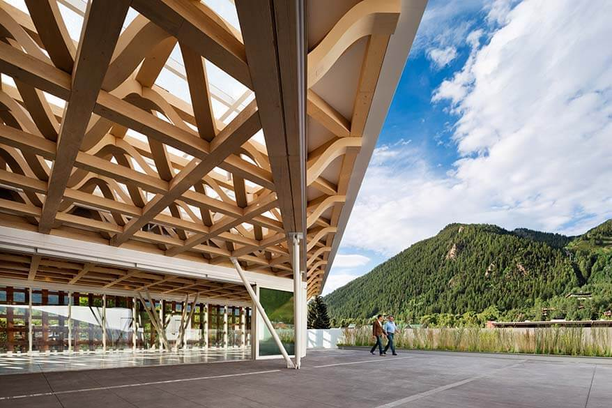 Aspen Art Museum - one of the best places to visit in Aspen CO.