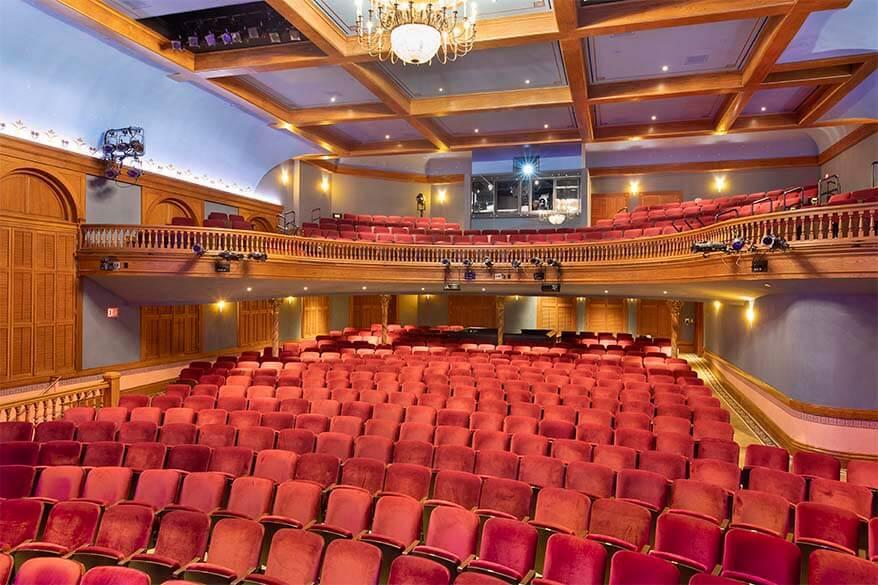 Aspen Wheeler Opera House interior