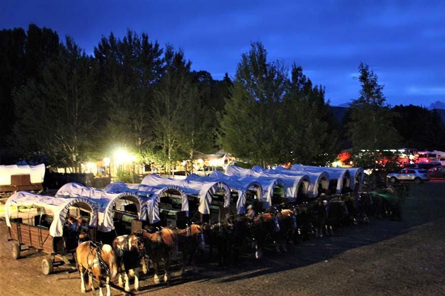 Bar T 5 Chuck Wagon Dinner Ride in Jackson Hole