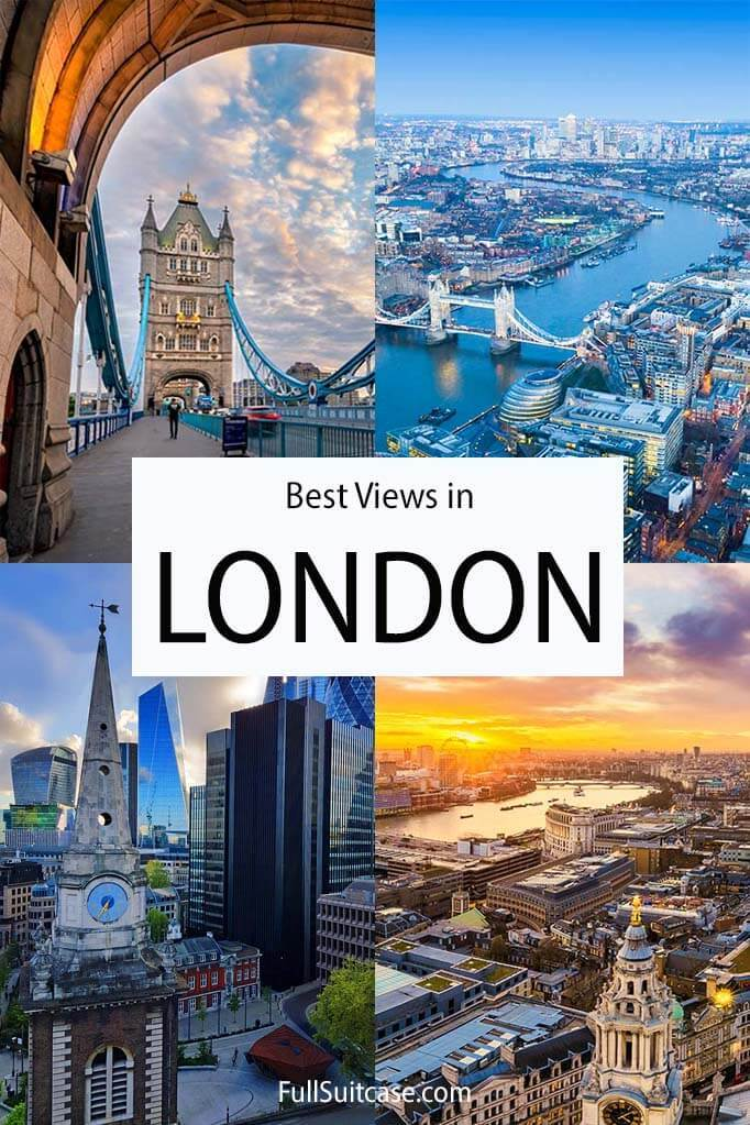 Best views and viewpoints in London