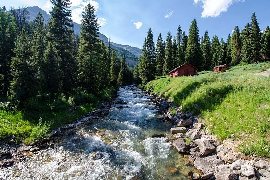 Granite Creek near Jackson Wyoming
