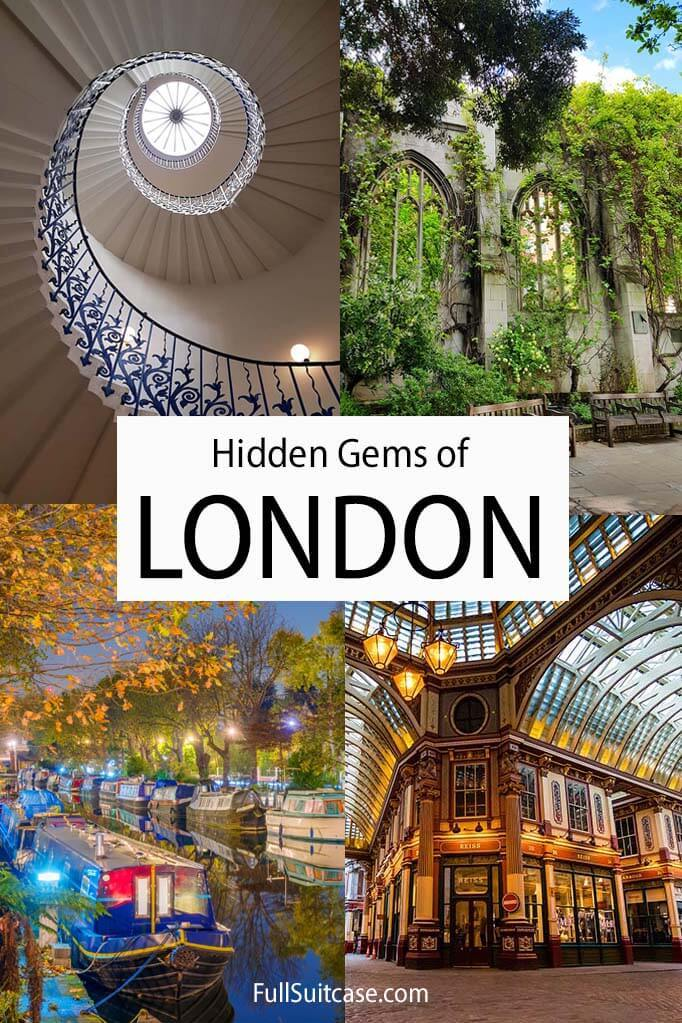 Hidden gems and secret places to see in London