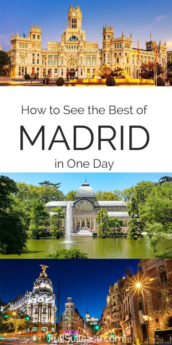 How to see the best of Madrid in one day