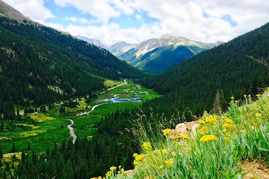 Independence Pass - one of the most scenic roads in Colorado