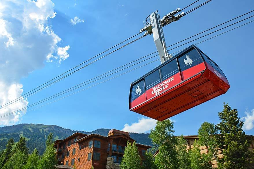 Jackson Hole Aerial Tram in Teton Village
